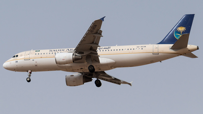 HZ-AS38 - Airbus A320-214 - Saudi Arabian Airlines