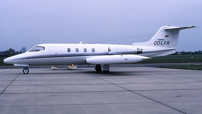OO-LFR - Gates Learjet 25D - Private