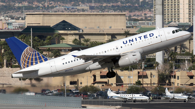 N823UA - Airbus A319-131 - United Airlines