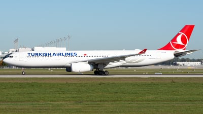 TC-LOB - Airbus A330-343 - Turkish Airlines