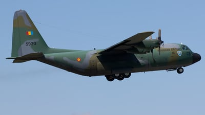 5930 - Lockheed C-130B Hercules - Romania - Air Force