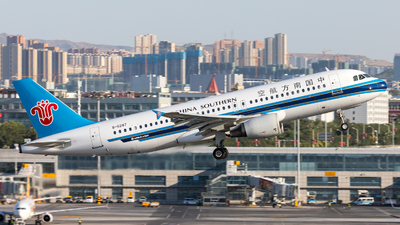A picture of B6287 - Airbus A320214 - China Southern Airlines - © UNNAMED