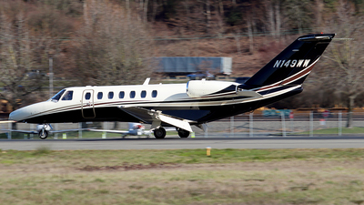 N149WW - Cessna 525B CitationJet 3 - Private