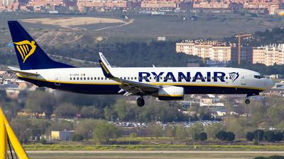 A picture of EIDPK - Boeing 7378AS - Ryanair - © Alejandro Gutierrez Martin