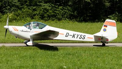 D-KYSS - Nitsche AVO 68-R115 Samburo - Deutsche Alpensegelflugschule Unterwössen