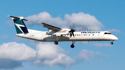 C-FENY - Bombardier Dash 8-Q402 - WestJet Encore