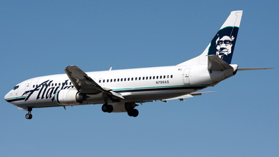 N799AS - Boeing 737-490 - Alaska Airlines