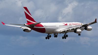 3B-NBJ - Airbus A340-313E - Air Mauritius