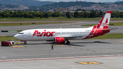 A picture of YV3011 - Boeing 737401 - Avior Airlines - © Cristian Quijano