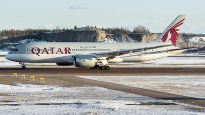 A picture of A7BDD - Boeing 7878 Dreamliner - Qatar Airways - © Otto Kiiski