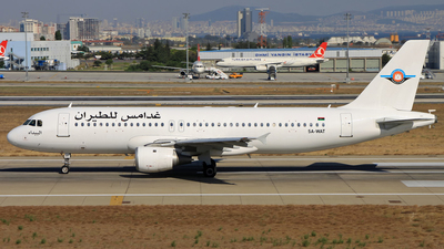 5A-WAT - Airbus A320-211 - Ghadames Air Transport