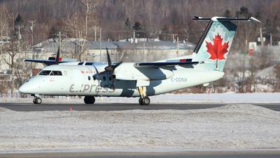 A picture of CGONX - De Havilland Canada Dash 8100 - Voyageur Airways - © Guy Langlois