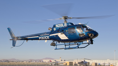 N28LB - Eurocopter AS350B2 Squirrel - United States - Long Beach Police Department
