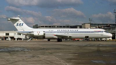 SE-DDP - McDonnell Douglas DC-9-41 - Scandinavian Airlines (SAS)