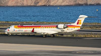A picture of ECJYA - Mitsubishi CRJ900ER - [15090] - © Bartolome Fernandez - Gran Canaria Spotters
