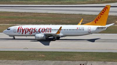 TC-CPO - Boeing 737-8AS - Pegasus Airlines