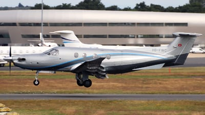 A picture of HBFWC - Pilatus PC12/47E - TAG Aviation - © n94504