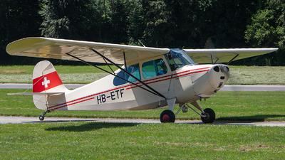 HB-ETF - Aeronca 7AC Champion - Private