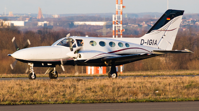A picture of DIGIA - Cessna421C Golden Eagle 3 - [21C0623] - © Holm H