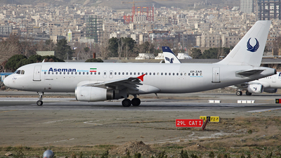 EP-ZAR - Airbus A320-231 - Iran Aseman Airlines