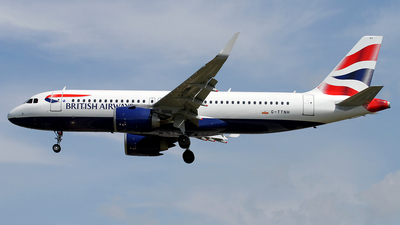 G-TTNH - Airbus A320-251N - British Airways