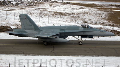 188748 - McDonnell Douglas CF-188 Hornet - Canada - Royal Air Force