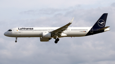 A picture of DAIEC - Airbus A321271NX - Lufthansa - © Javier Rodriguez - Amics de Son Sant Joan