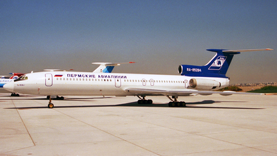 RA-85284 - Tupolev Tu-154B-1 - Perm Airlines