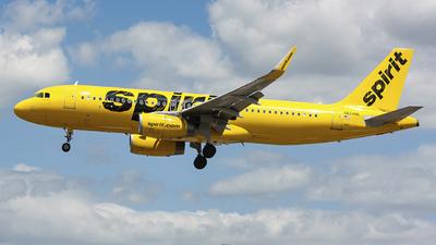 N624NK - Airbus A320-232 - Spirit Airlines