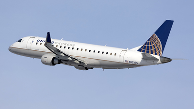 A picture of N85355 - Embraer E175LR - United Airlines - © Jeremy D. Dando