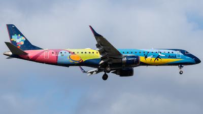 A picture of PRAXH - Embraer E195AR - Azul Linhas Aereas - © Antonio Carlos Carvalho Jr.