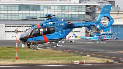 JA32MP - Eurocopter EC 135T2+ - Japan - Police