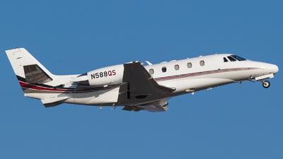 A picture of N588QS - Cessna 560XLS Citation Excel - NetJets - © Alex Crail