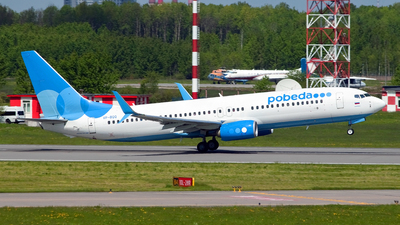 VP-BQQ - Boeing 737-8MC - Pobeda