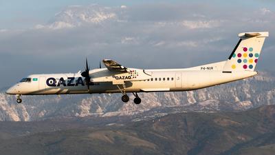 A picture of P4NUR - De Havilland Canada Dash 8400 - [4494] - © Yerbol Yespol - Kazakhstan Spotting Club