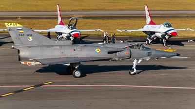 FAC3058 - IAI Kfir C10 - Colombia - Air Force
