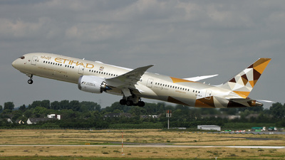 A6-BLG - Boeing 787-9 Dreamliner - Etihad Airways