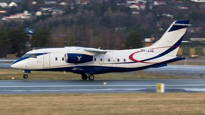 OY-JJG - Dornier Do-328-310 Jet - Sun Air