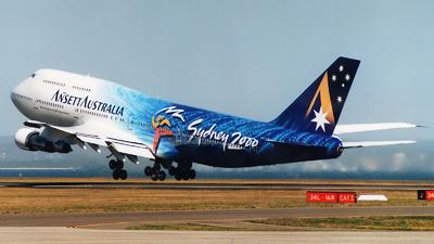 VH-INJ - Boeing 747-312 - Ansett Australia