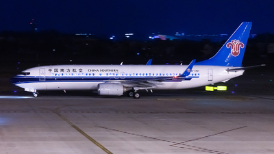 B-1747 - Boeing 737-81B - China Southern Airlines
