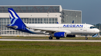 A picture of SXDND - Airbus A320232 - Aegean Airlines - © MatthiasKNU