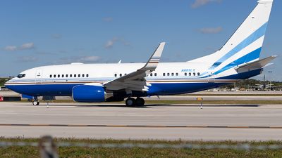 N889LS - Boeing 737-73T(BBJ) - Las Vegas Sands Corporation