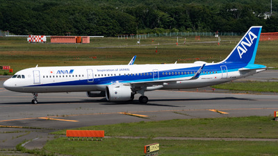 A picture of JA142A - Airbus A321272N - All Nippon Airways - © shiroiruka