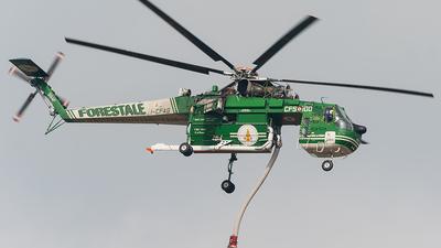 I-CFAG - Sikorsky S-64F Skycrane - Italy - Forestale