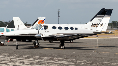 N116PA - Cessna 414A Chancellor - Private