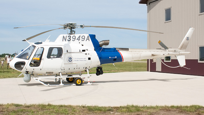 N3949A - Eurocopter AS 350B3 Ecureuil - United States - US Department Of Homeland Security
