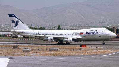 EP-IAM - Boeing 747-186B - Iran Air