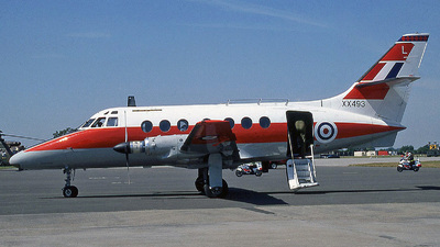 XX493 - British Aerospace Jetstream T.1 - United Kingdom - Royal Air Force (RAF)