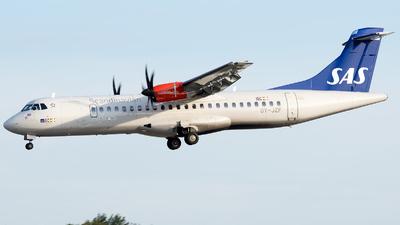 OY-JZF - ATR 72-212A(600) - Scandinavian Airlines (Jettime)