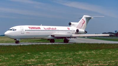 TS-JHU - Boeing 727-2H3(Adv) - Tunisair